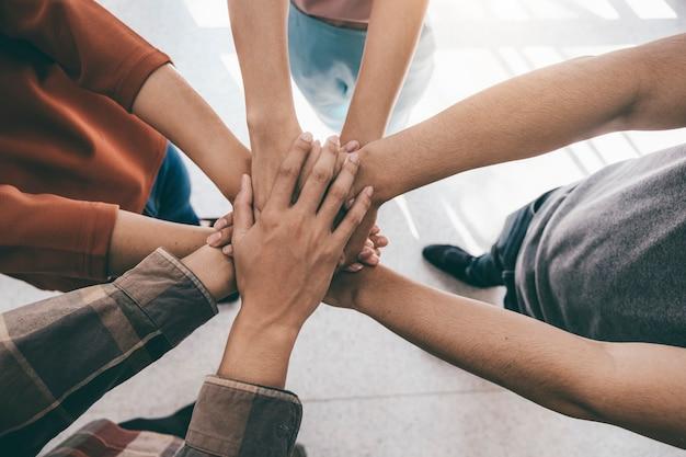 Koncepcja współpracy wspólnoty pracy zespołowej.
