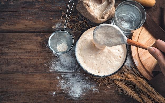 Koncepcja wypieku chleba z dodatkami