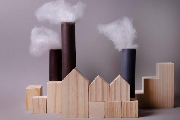Koncepcja zanieczyszczeń z emisją fabryczną