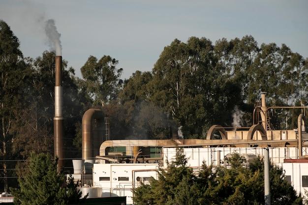 Koncepcja zanieczyszczenia emisji fabrycznych