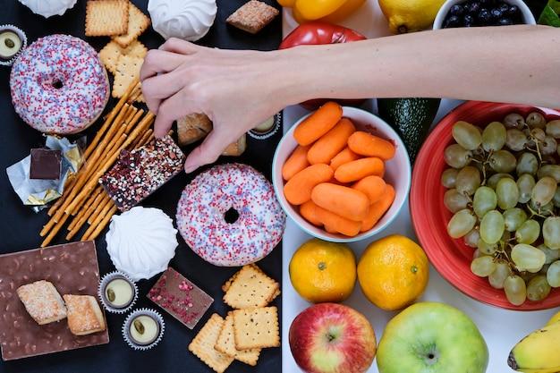 Koncepcja zdrowej i niezdrowej żywności