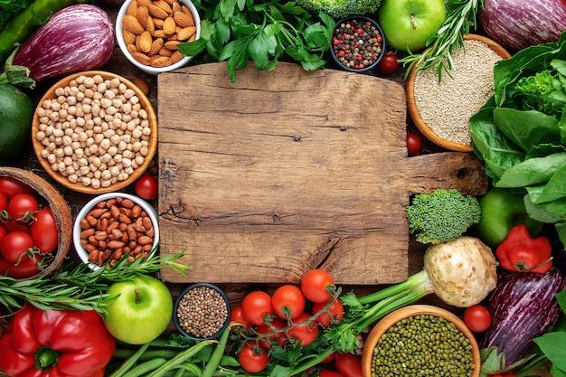 Koncepcja zdrowej żywności wegańskiej