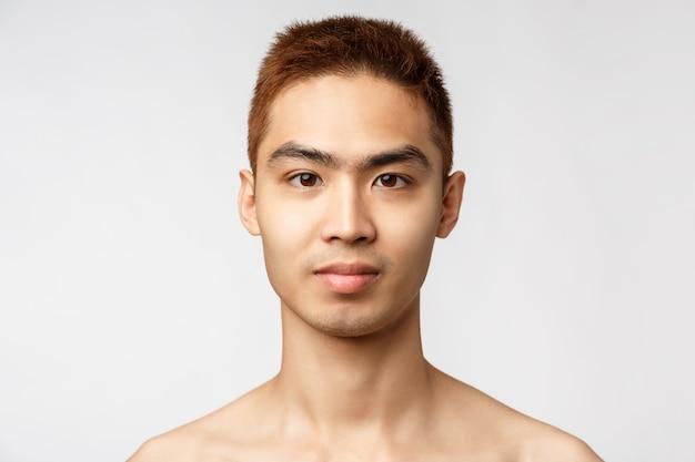 Koncepcja zdrowia, pielęgnacji skóry i zdrowia mężczyzn.