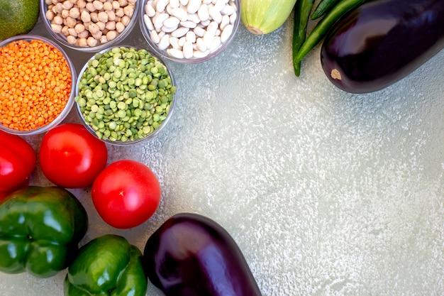 Koncepcja zrównoważonej diety.