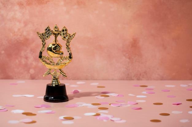 Koncepcja zwycięzcy z fajną nagrodą