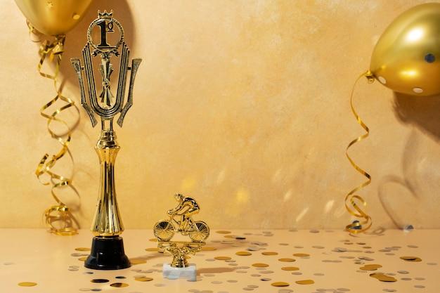 Koncepcja zwycięzcy ze złotą 1 nagrodą