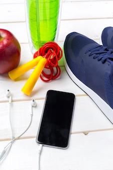 Koncepcje sports fitness ze sprzętem do ćwiczeń