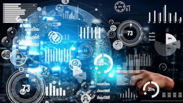 Koncepcyjny pulpit biznesowy do analizy danych finansowych