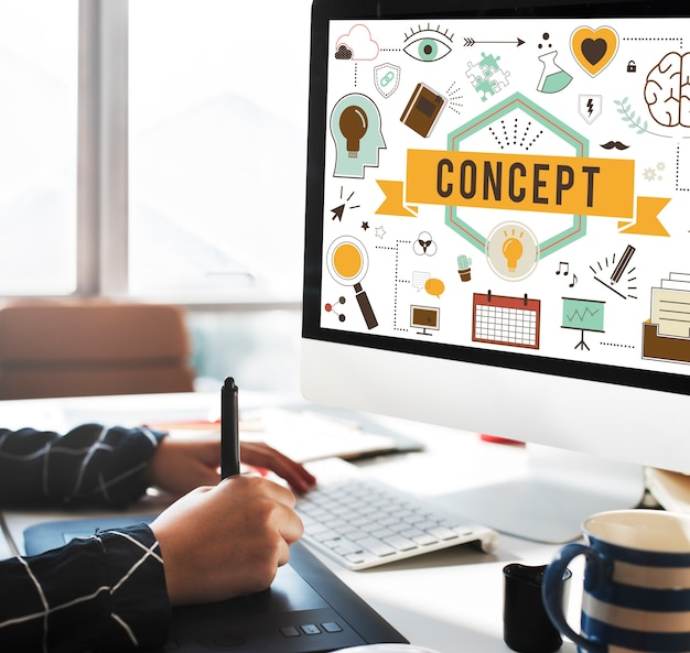 Konceptualizuj poczęcie pomysły koncepcyjne plan koncepcji