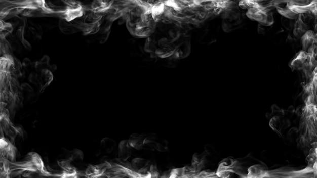 Konstrukcja dymna ilustracja 3d