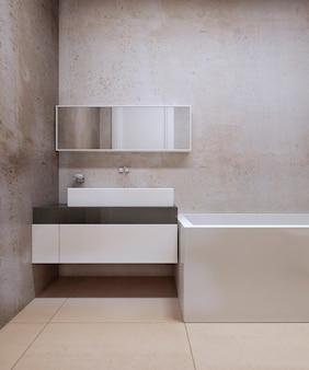 Konstruktywizm projekt łazienki
