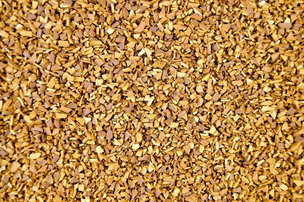 Konsystencja granulowanej kawy rozpuszczalnej