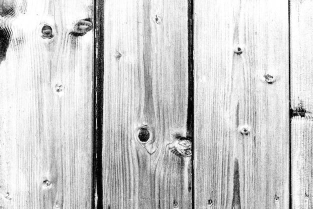 Kontrastujące trzy deski z drewna sosnowego w kolorze czarnym i białym