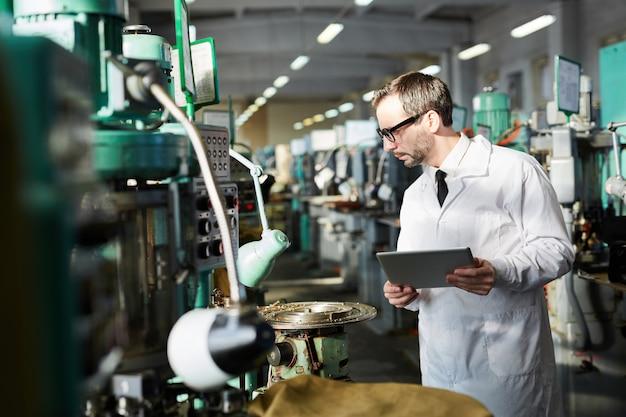 Kontrola jakości w fabryce