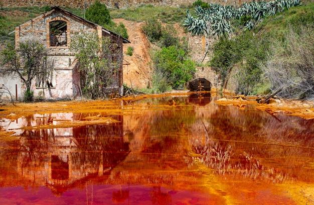 Kopalnie riotinto, huelva, hiszpania