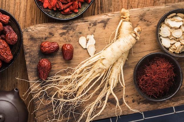 Koreańska medycyna ziołowa: świeży żeń-szeń