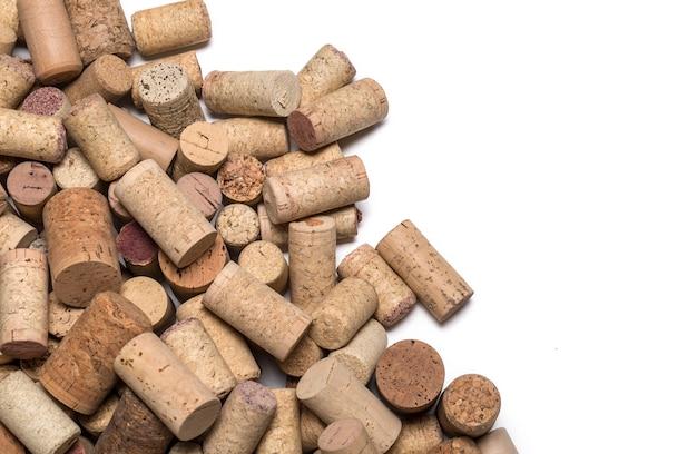 Korki do wina na drewnianych