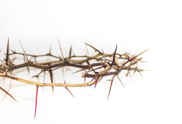 Korona cierniowa symbol religii chrześcijańskiej