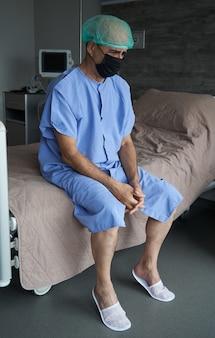 Koronawirus wykrył 19 zarażonych pacjentów w kwarantannie łóżka szpitalnego