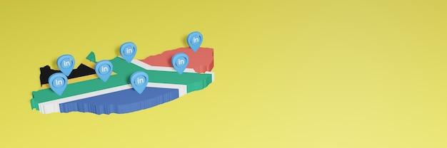 Korzystanie z linkedin w rpa na potrzeby telewizji społecznościowej i tła strony internetowej
