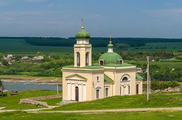 Kościół aleksandra newskiego w chocim na ukrainie