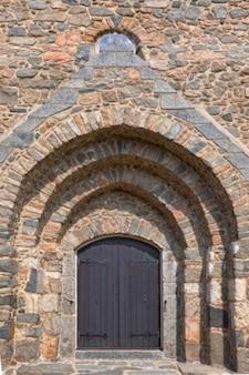 Kościół drzwi hdr