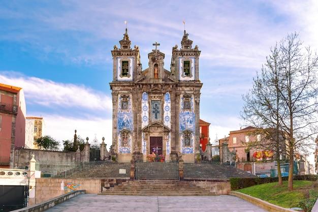 Kościół igreja de santo ildefonso, porto, portugalia