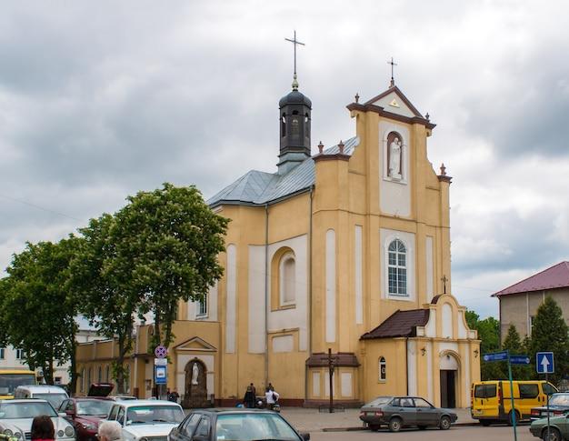 Kościół jozafata w kołomyi na ukrainie. zbudowany 1762