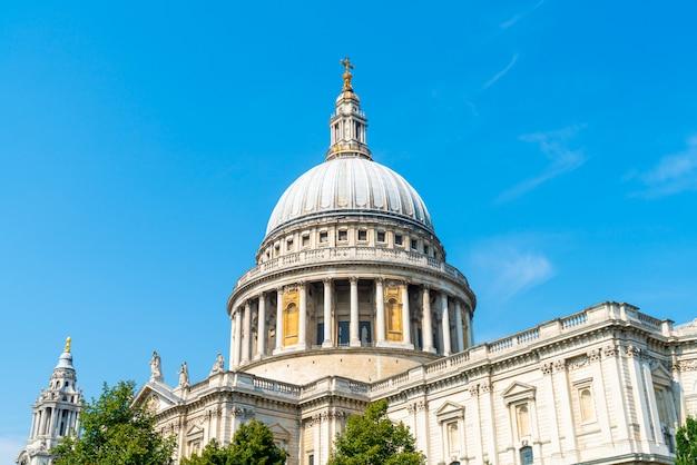 Kościół katedralny świętego pawła w londynie.