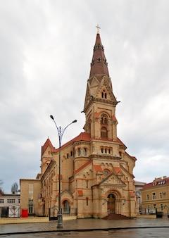 Kościół luterański św. pawła w odessie na ukrainie
