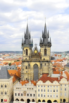 Kościół najświętszej marii panny na placu staromiejskim praga