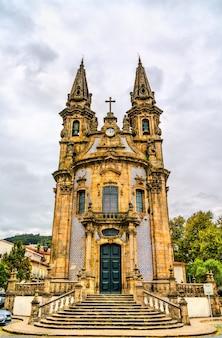 Kościół nossa senhora da consolacao e dos santos passos w guimaraes, portugalia