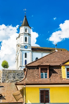 Kościół reformowany w aarburgu w kantonie aargau w szwajcarii