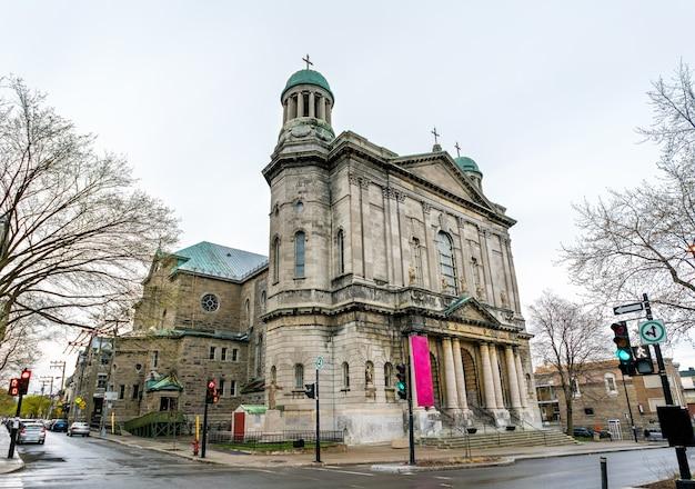 Kościół saint jean-baptiste w montrealu - quebec, kanada