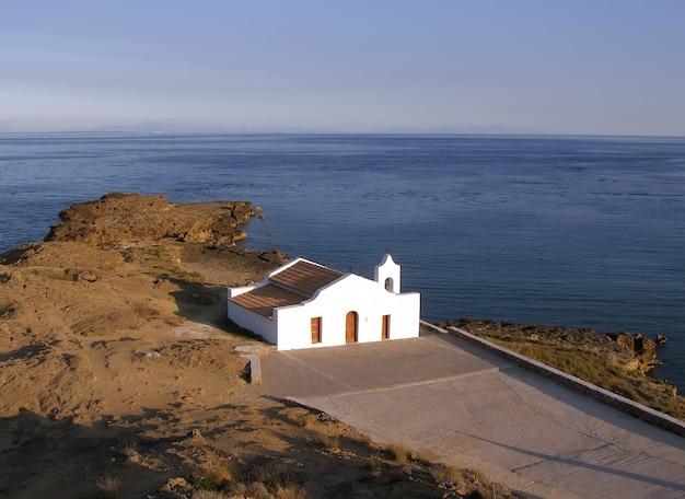Kościół saint nikolas na wyspie zakynthos, grecja