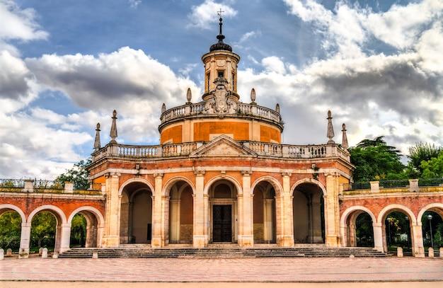 Kościół san antonio de padua w aranjuez koło madrytu, hiszpania