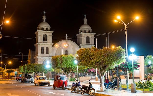 Kościół san cristobal w palpa, peru