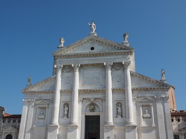 Kościół san giorgio w wenecji