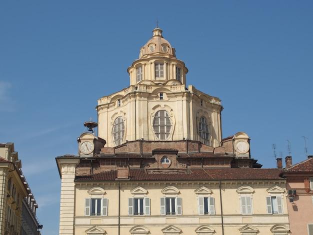 Kościół san lorenzo, turyn