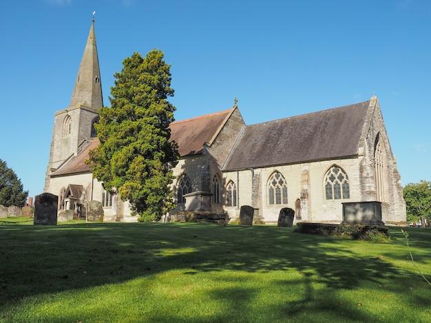 Kościół św marii magdaleny w tanworth w arden