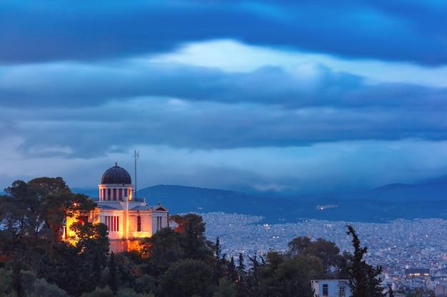 Kościół św. mariny w thissio w atenach, grecja