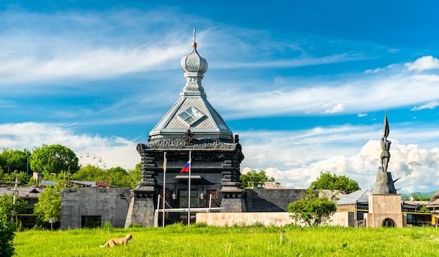 Kościół św. michała archanioła w gyumri shirak, armenia