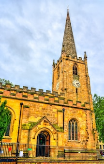 Kościół św. piotra w nottingham east midlands, anglia