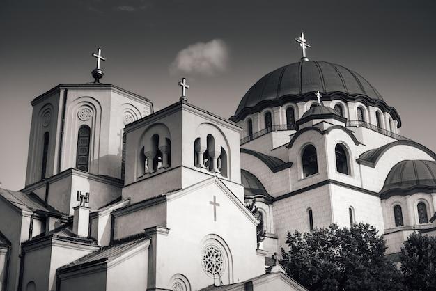 Kościół św. sawy. belgrad, serbia.