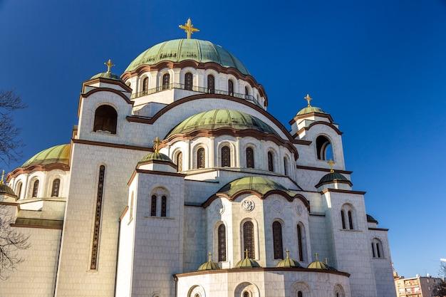 Kościół św sawy w belgradzie w serbii