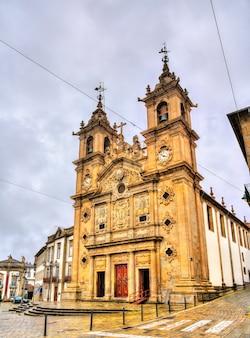 Kościół świętego krzyża w bradze w portugalii