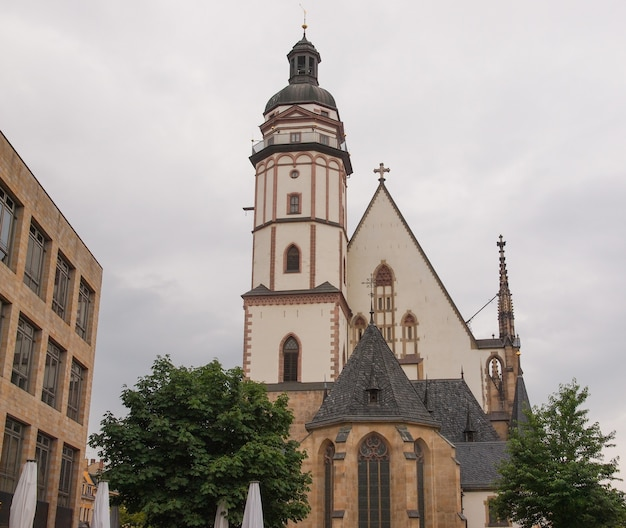 Kościół thomaskirche w lipsku