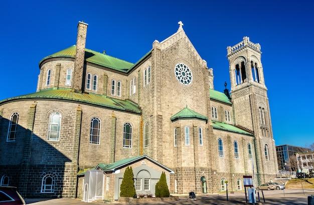 Kościół tres saint sacrement w mieście quebec - kanada