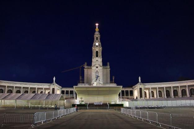Kościół w mieście fatima, portugalia