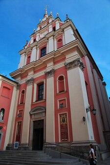 Kościół w warszawie polska